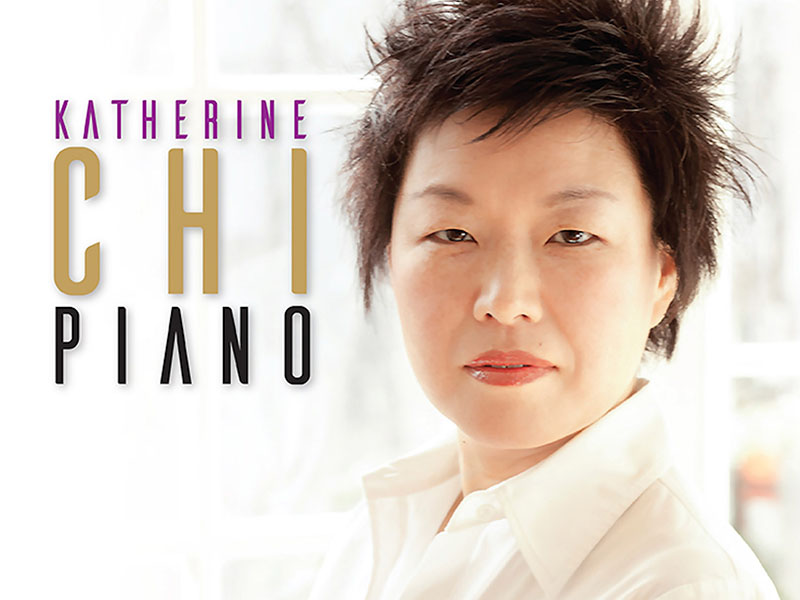 A poster for Katherine Chi's upcoming performance with High River Gift of Music