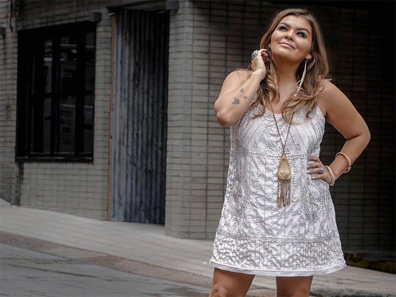 Promo photo of singer Crystal Shawanda