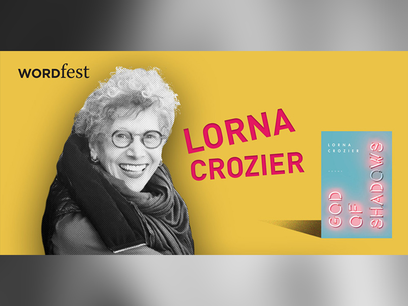 Poster for Wordfest Presents Lorna Crozier