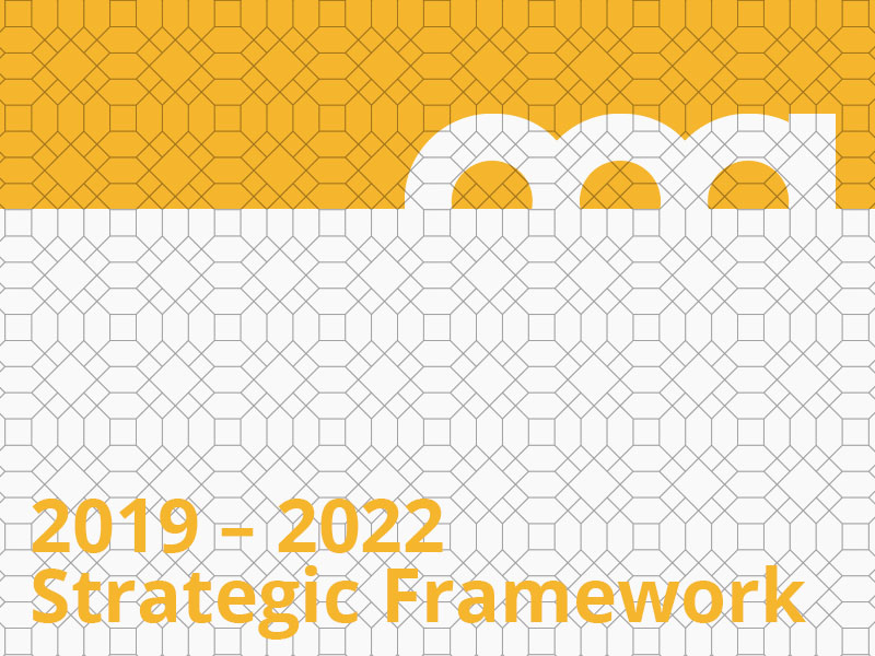 2019 – 2022 Strategic Framework graphic