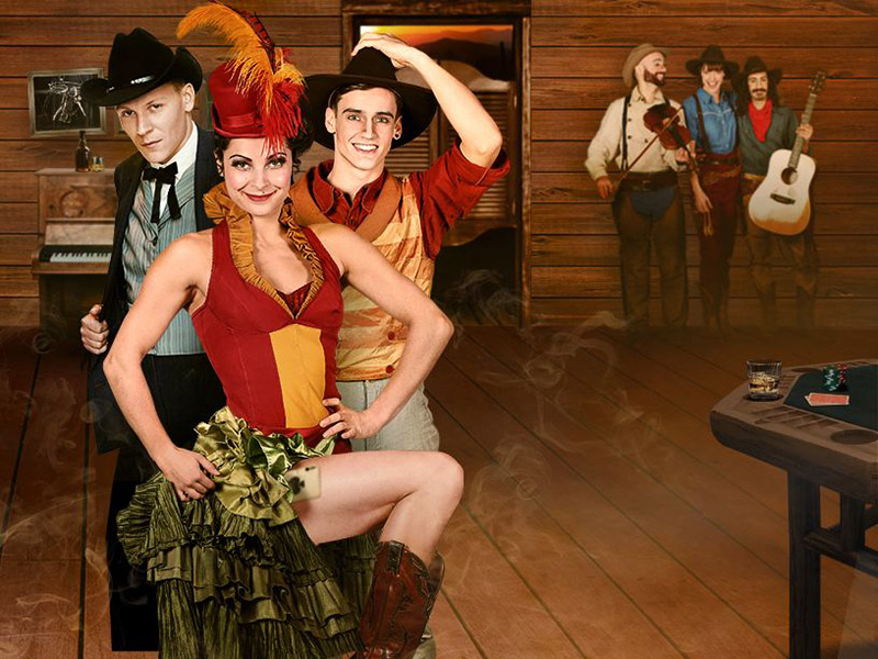 Promotional image for Cirque Éloize: Saloon