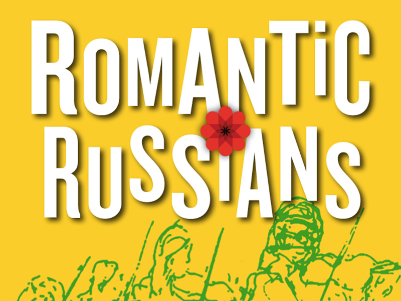 Poster for the Calgary Civic Symphony's upcoming performance, Romantic Russians