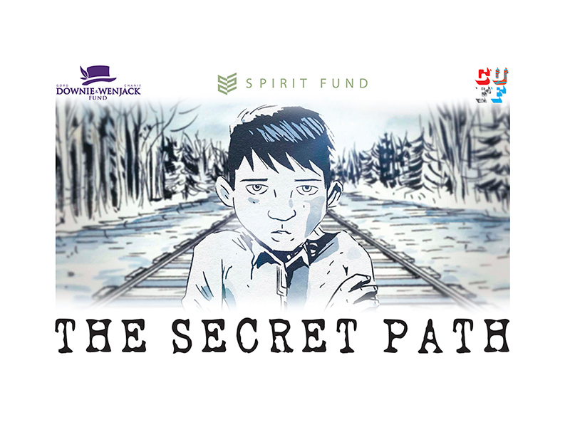 Poster for The Secret Path screening