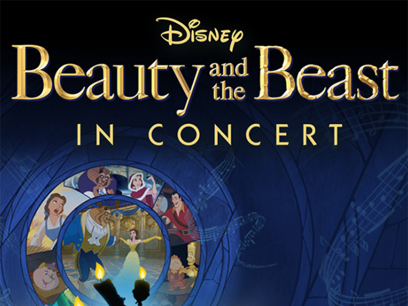 Poster for Disney in Concert: Beauty and the Beast