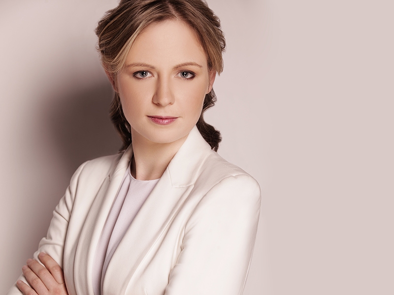 A promo photo of conductor Gemma New