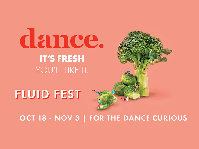 Poster for he 2018 Fluid Movement Arts Festival
