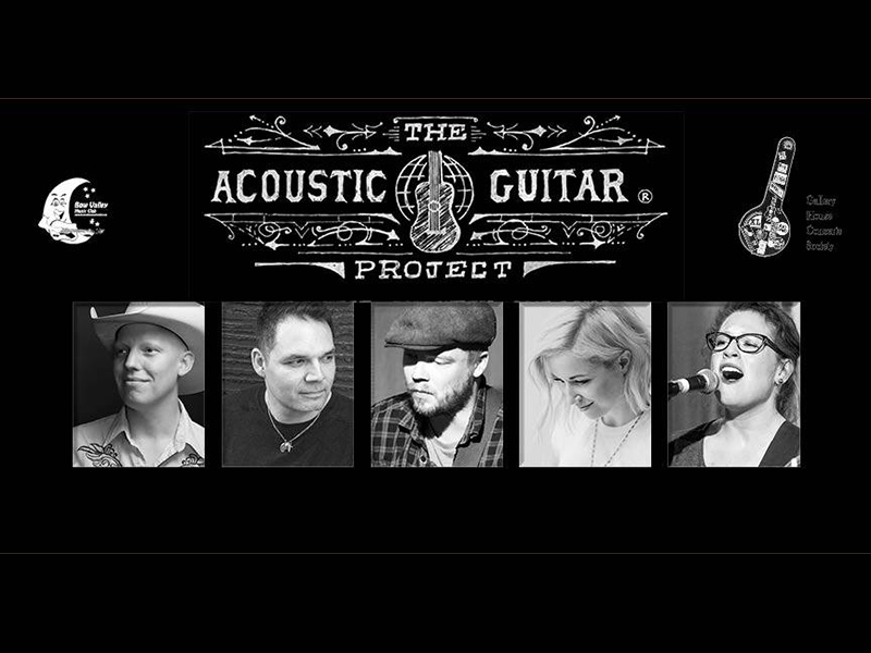 Poster for 2018's The Acoustic Guitar Project