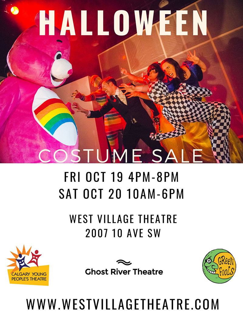 halloween costume sale | calgary arts development