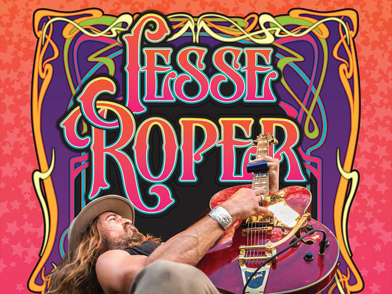 Poster for Jesse Roper at the King Eddy