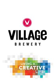 Village Brewery logo & Living a Creative Life Logo