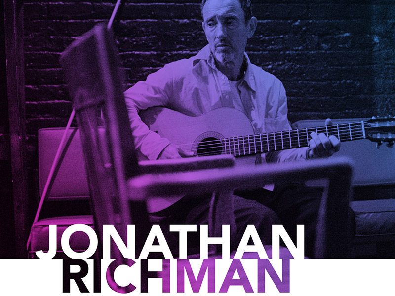 Promotional image for Jonathan Richman at Mount Royal University