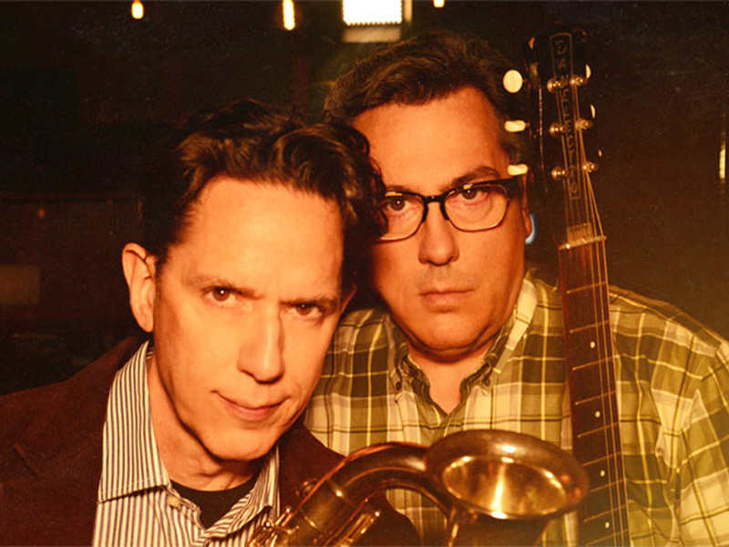 A promo photo of They Might Be Giants