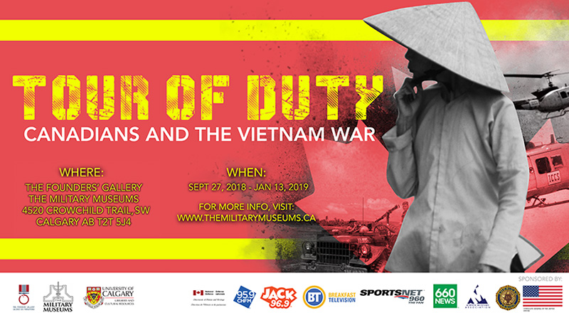 Poster for Tour of Duty: Canadians and the Vietnam War at The Military Museums