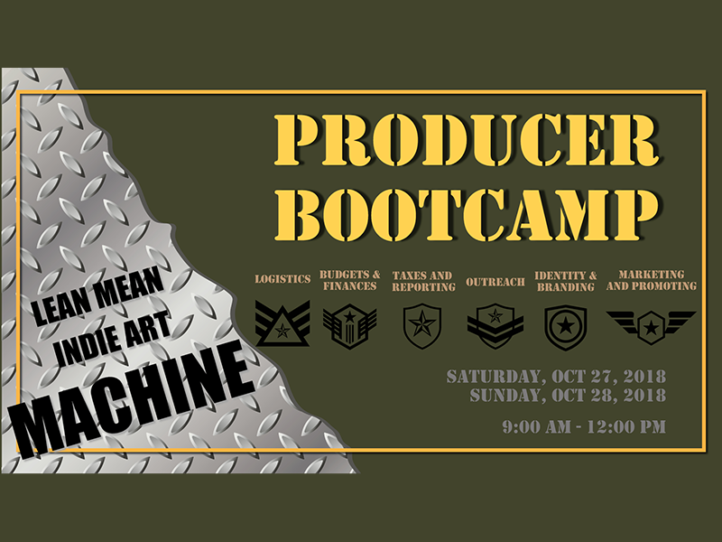 Image promo - Producer Boot Camp
