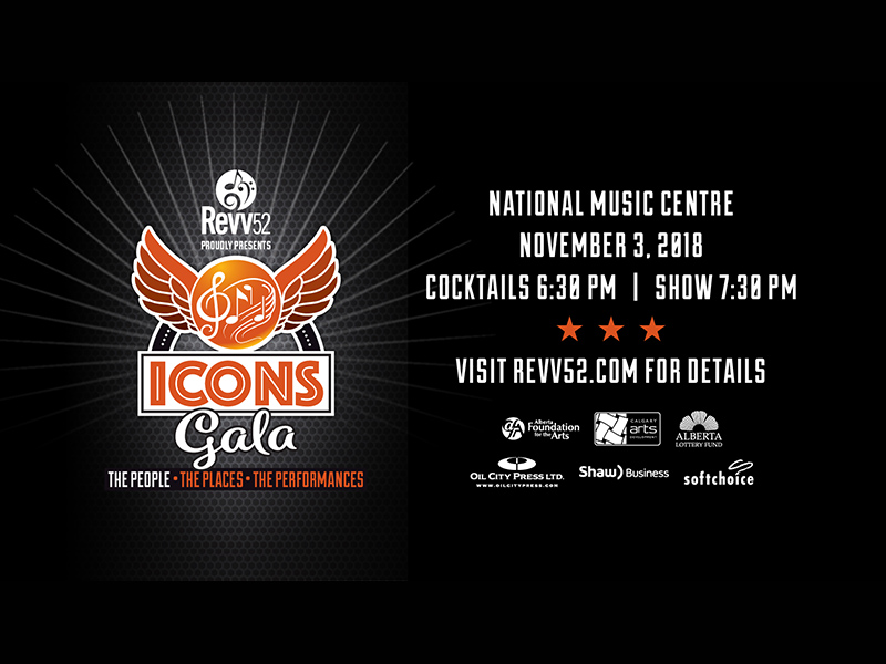 Poster for Revv52 Icons Gala