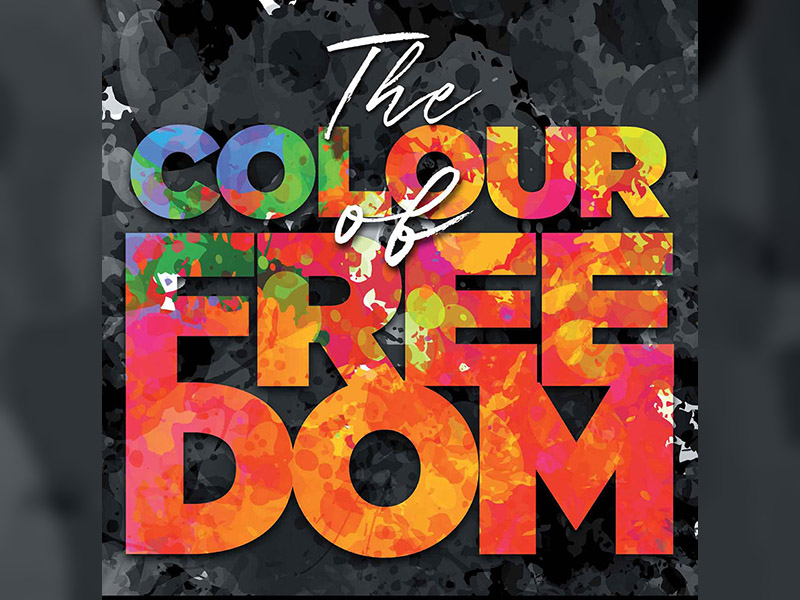 Poster for Spiritus Chamber Choir's The Colour of Freedom