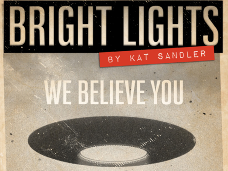 A poster for Theatre BSMT's production of Bright Lights