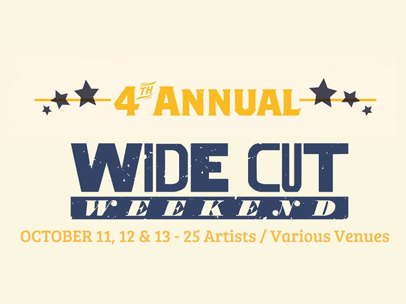 Poster for 2018's Wide Cut Weekend
