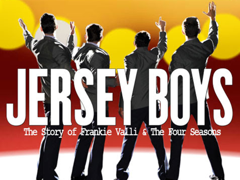 Poster for the Stage West Calgary production of Jersey Boys