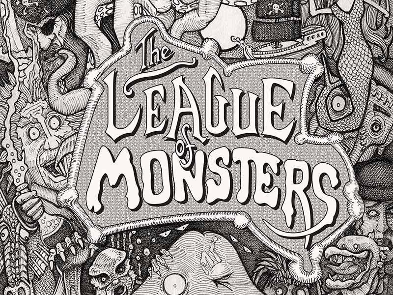 Poster for Alberta Dance Theatre for Young People's The League of Monsters