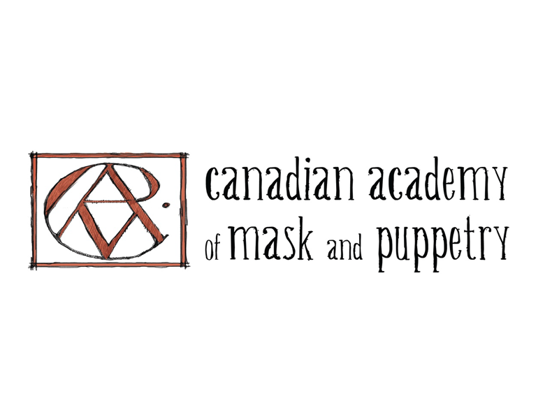 Image logo - Canadian Academy of Mask and Puppetry