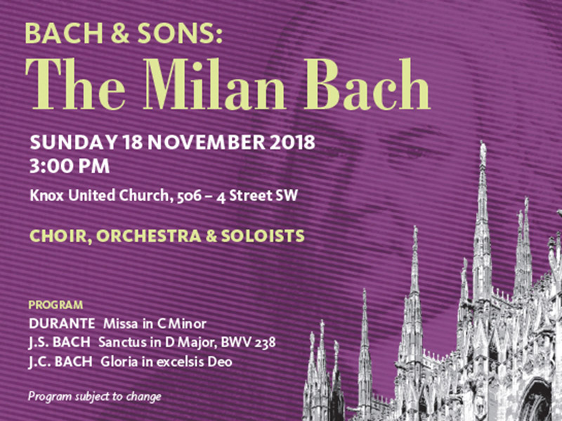 Poster for Bach & Sons: The Milan Bach