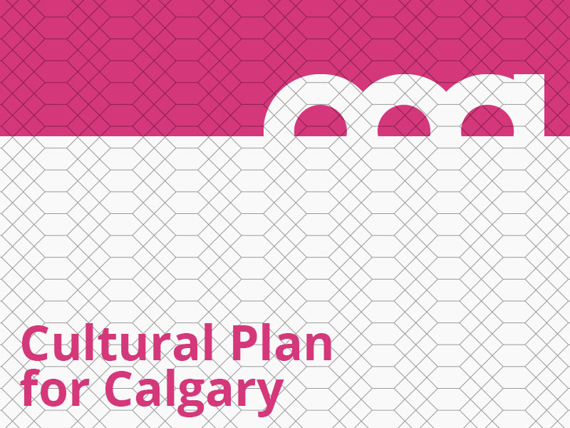 Cultural Plan for Calgary graphic
