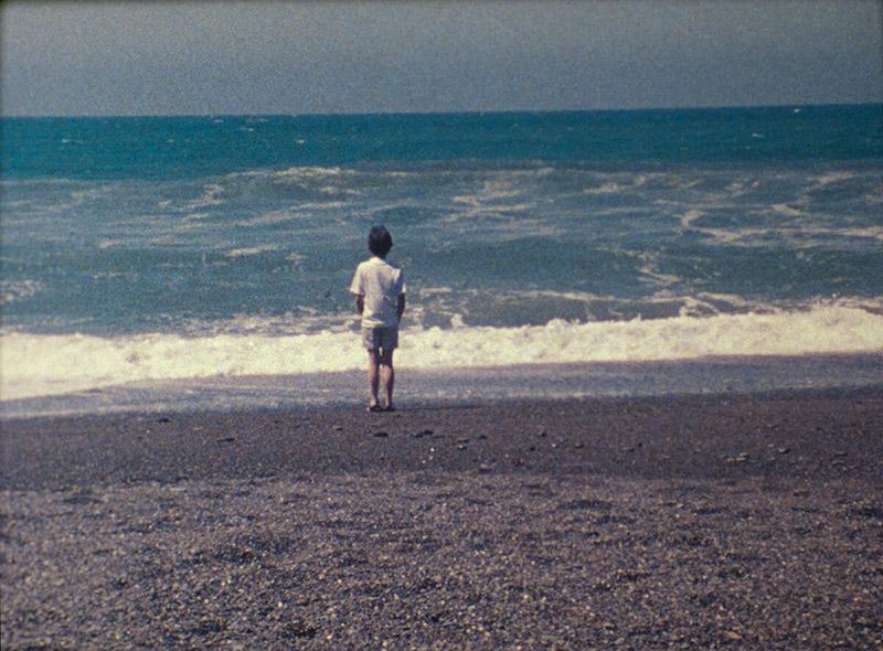 A still from Agnes Martin's film Gabriel
