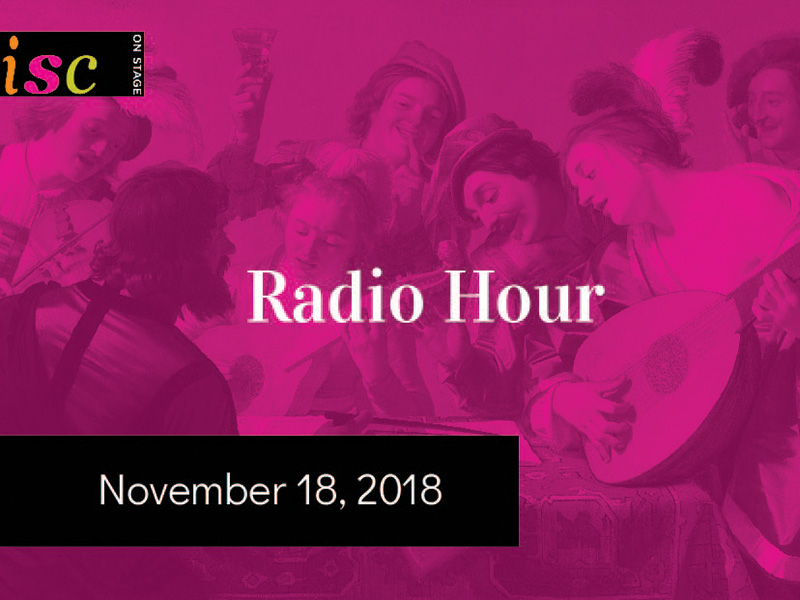A promo image for ths Instrumental Society of Calgary's Radio Hour