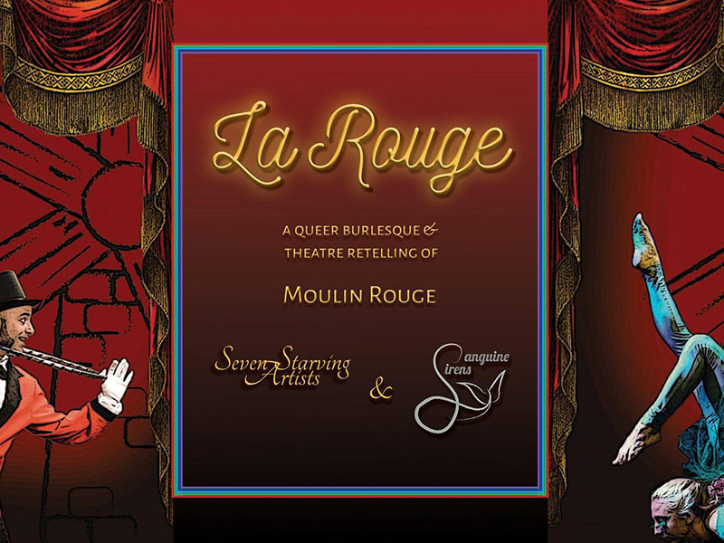 A poster for La Rouge