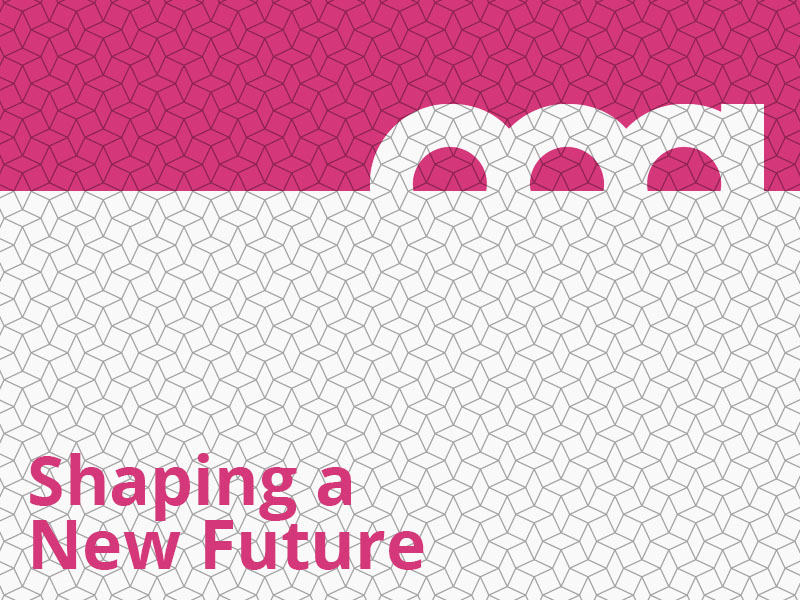 Shaping a New Future graphic