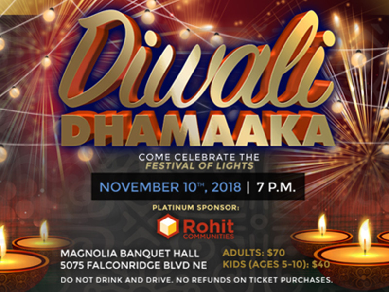 A poster for Diwali Dhamaaka