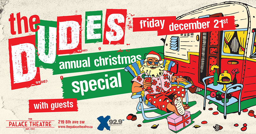 Poster for The Dudes Annual Christmas Special