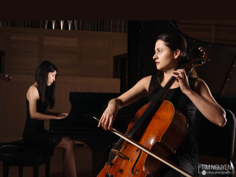 Performers in the University of Calgary's chamber music program perform