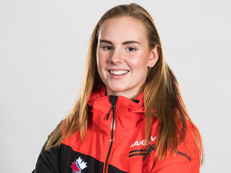 A photo of Brooke Apshkrum from Luge Canada