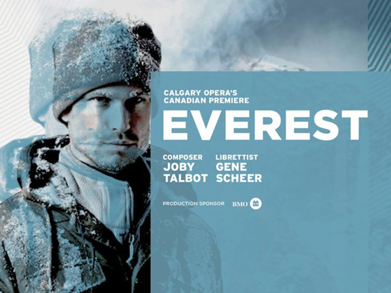 Poster for Calgary Opera's Everest