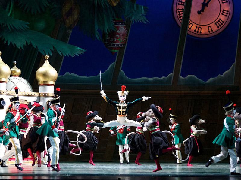 Dancers in the Alberta Ballet's The Nutcracker