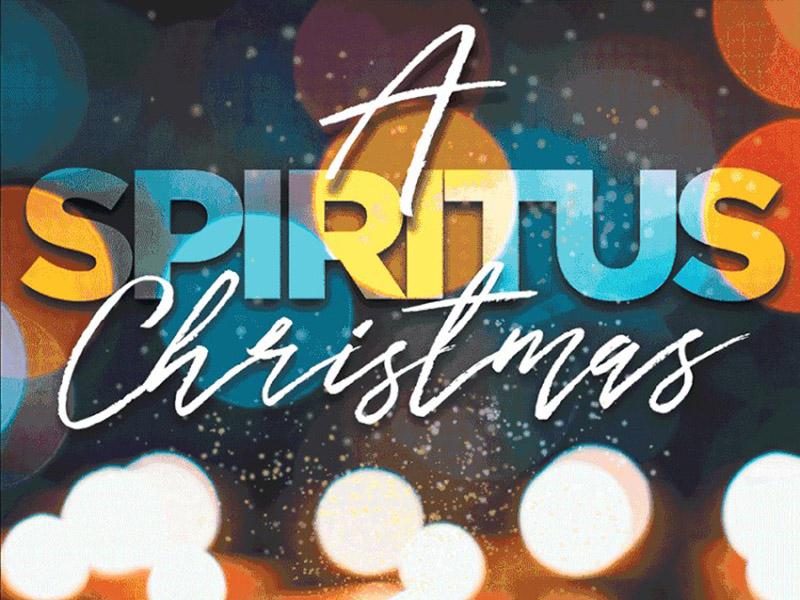 A poster for A Spiritus Christmas