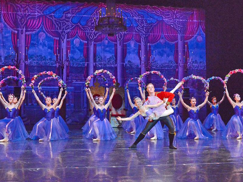 Dancers perform in Jeunesse Classique Ballet's The Nutcracker