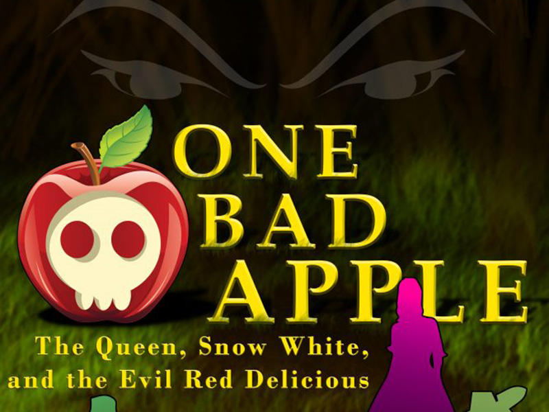 A poster for Morpheus Theatre's One Bad Apple