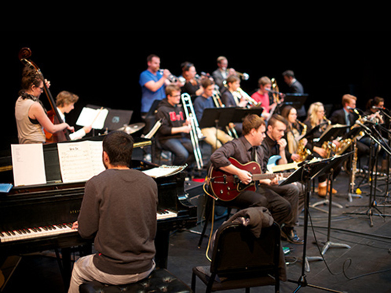 University of Calgary's Jazz Orchestra performs
