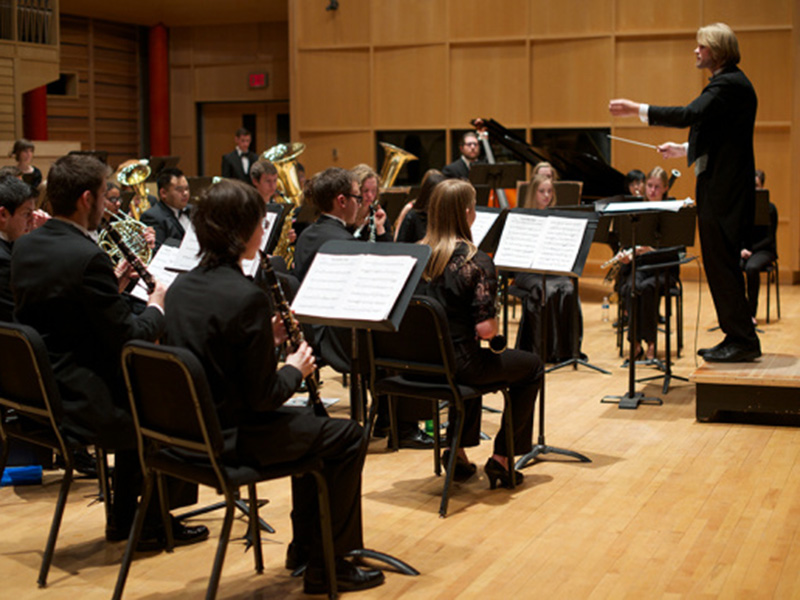 University of Calgary's Symphonic Band performs