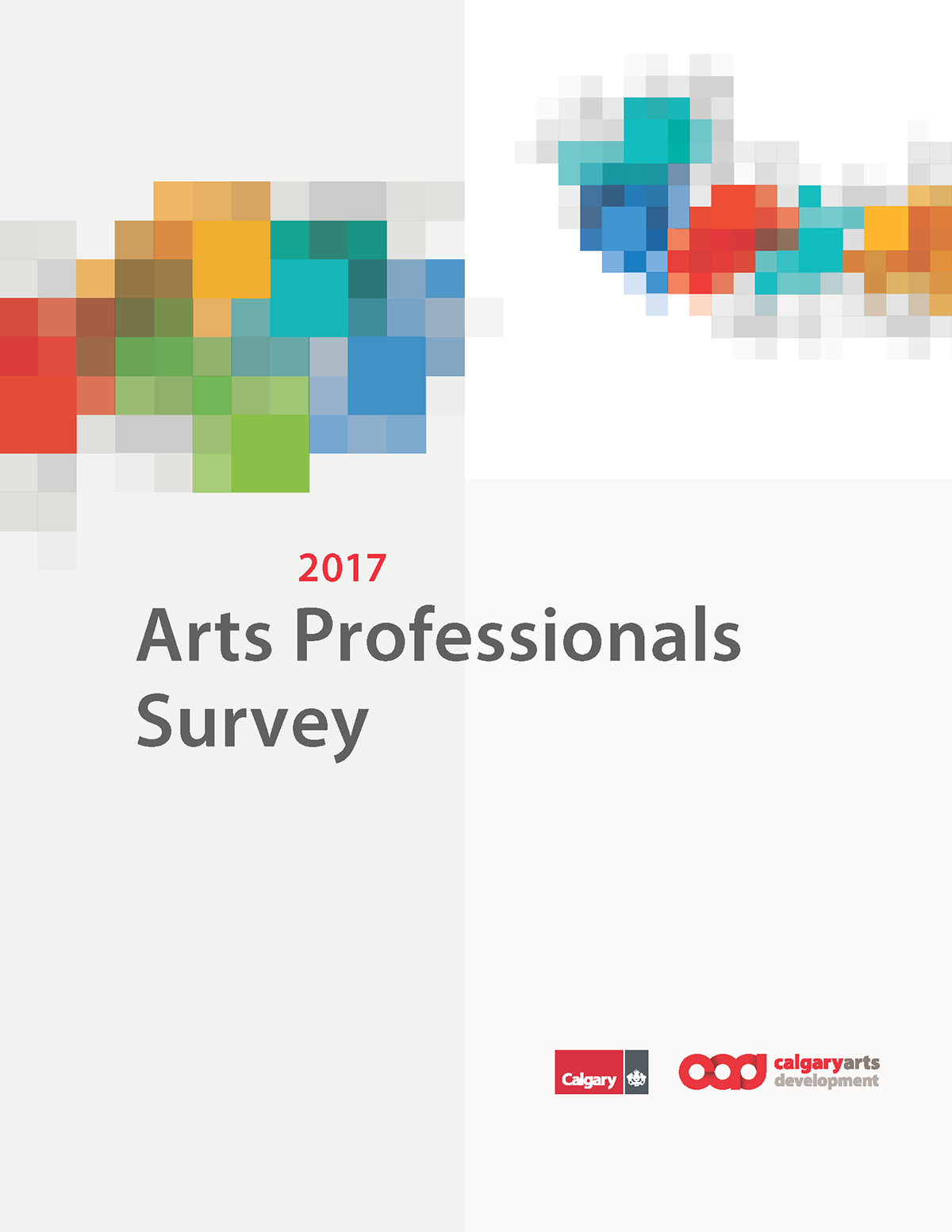 Cover for the 2017 Arts Professionals Survey