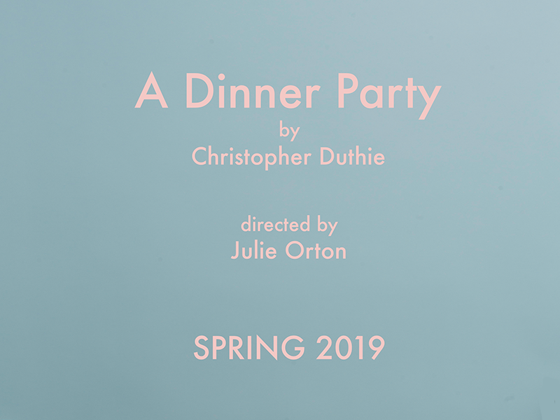 Audition - A Dinner Party