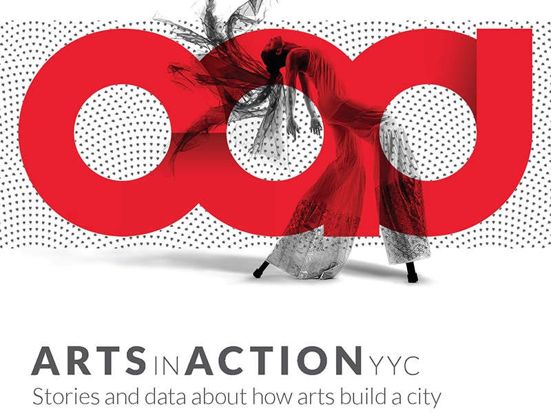 The cover for Arts in Action 2017