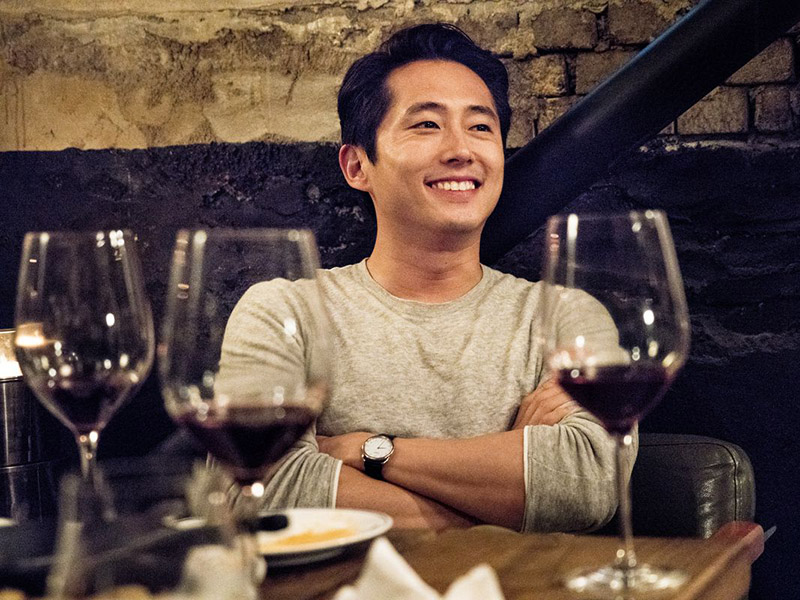 Steven Yeun in Lee Chang-dong's Burning