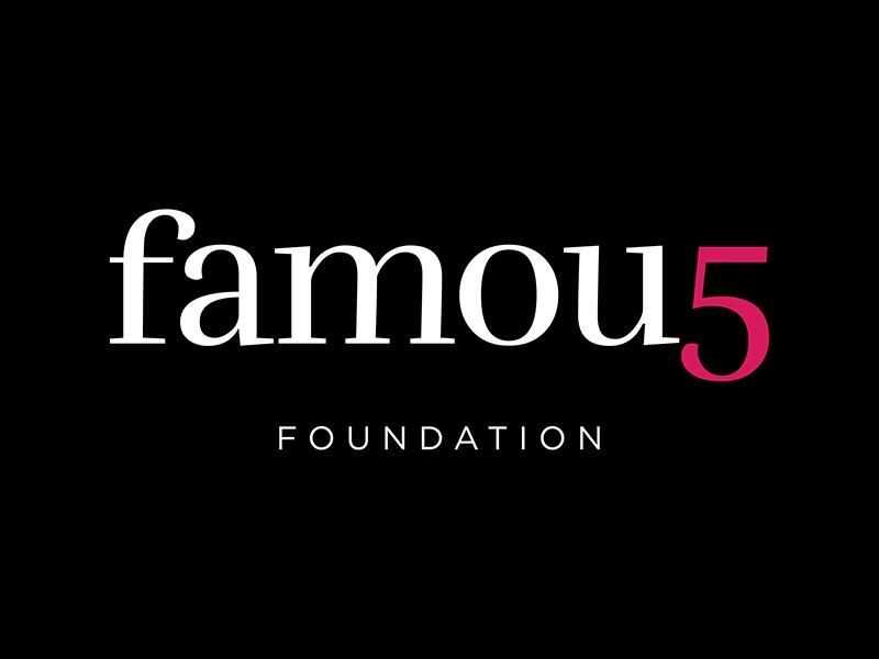 Famous 5 Foundation logo