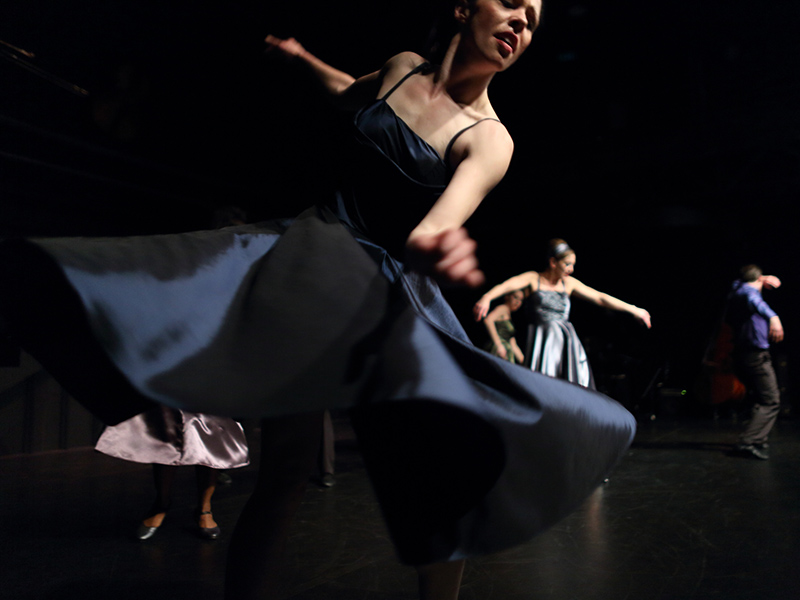 Dancers perform in Decidedly Jazz Danceworks' Better Get Hit in Your Soul