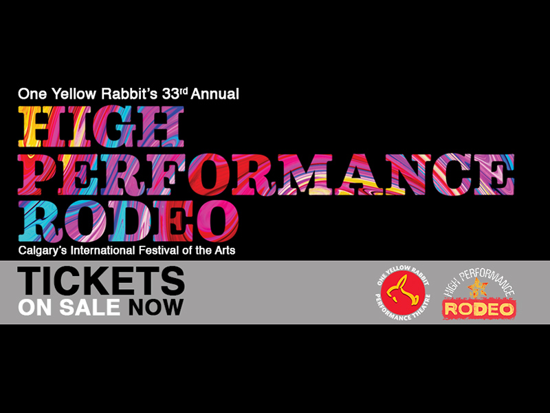 A poster for the 2019 High Performance Rodeo
