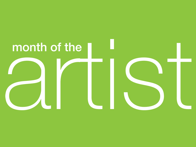 Month of the Artist wordmark